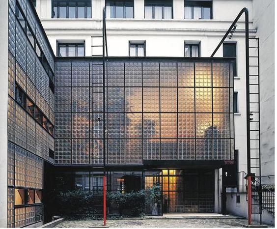 Maison de Verre, czyli Szklany Dom w Paryżu