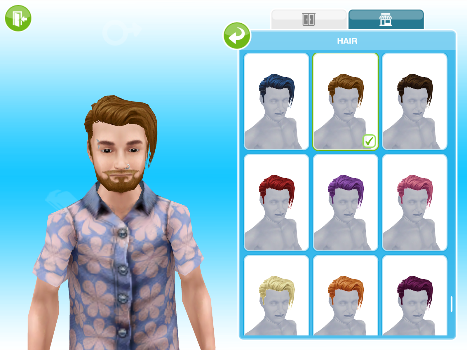 missy's sims and stuff: the sims freeplay ~ charming barber