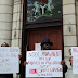 Photos: NDDC PhD Scholars Protest At Nigeria High Commission In London