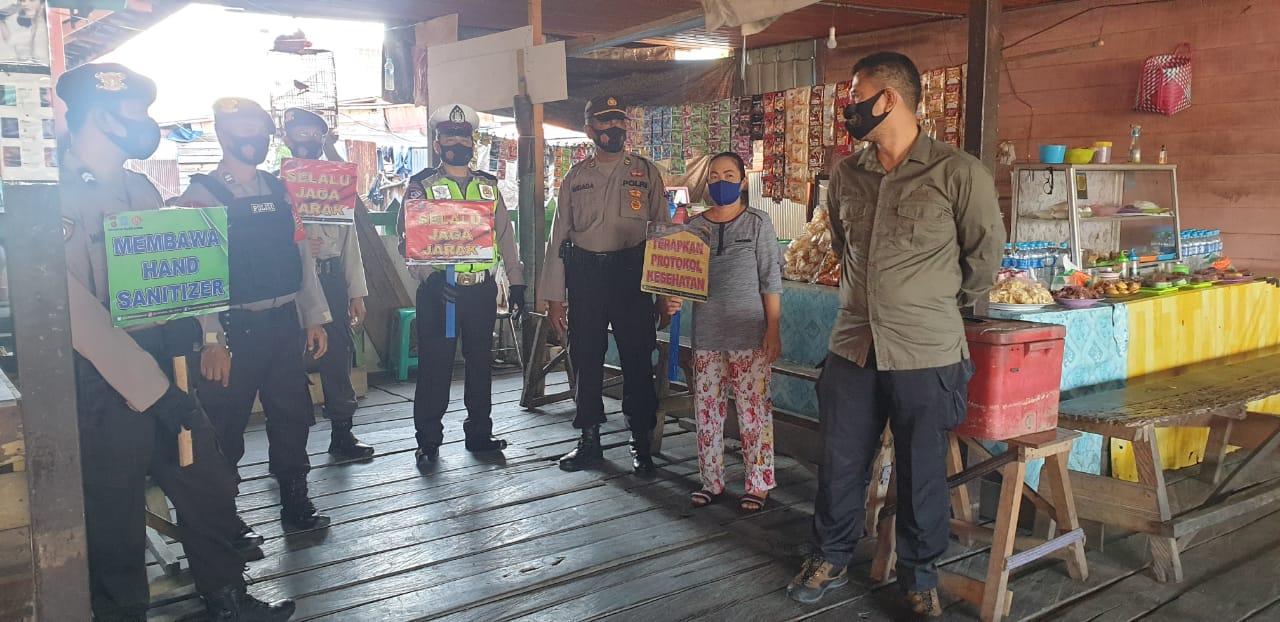 Gelar Patroli Pendisiplinan, Regu KRYD Polres Barsel Optimalkan Upaya Humanis