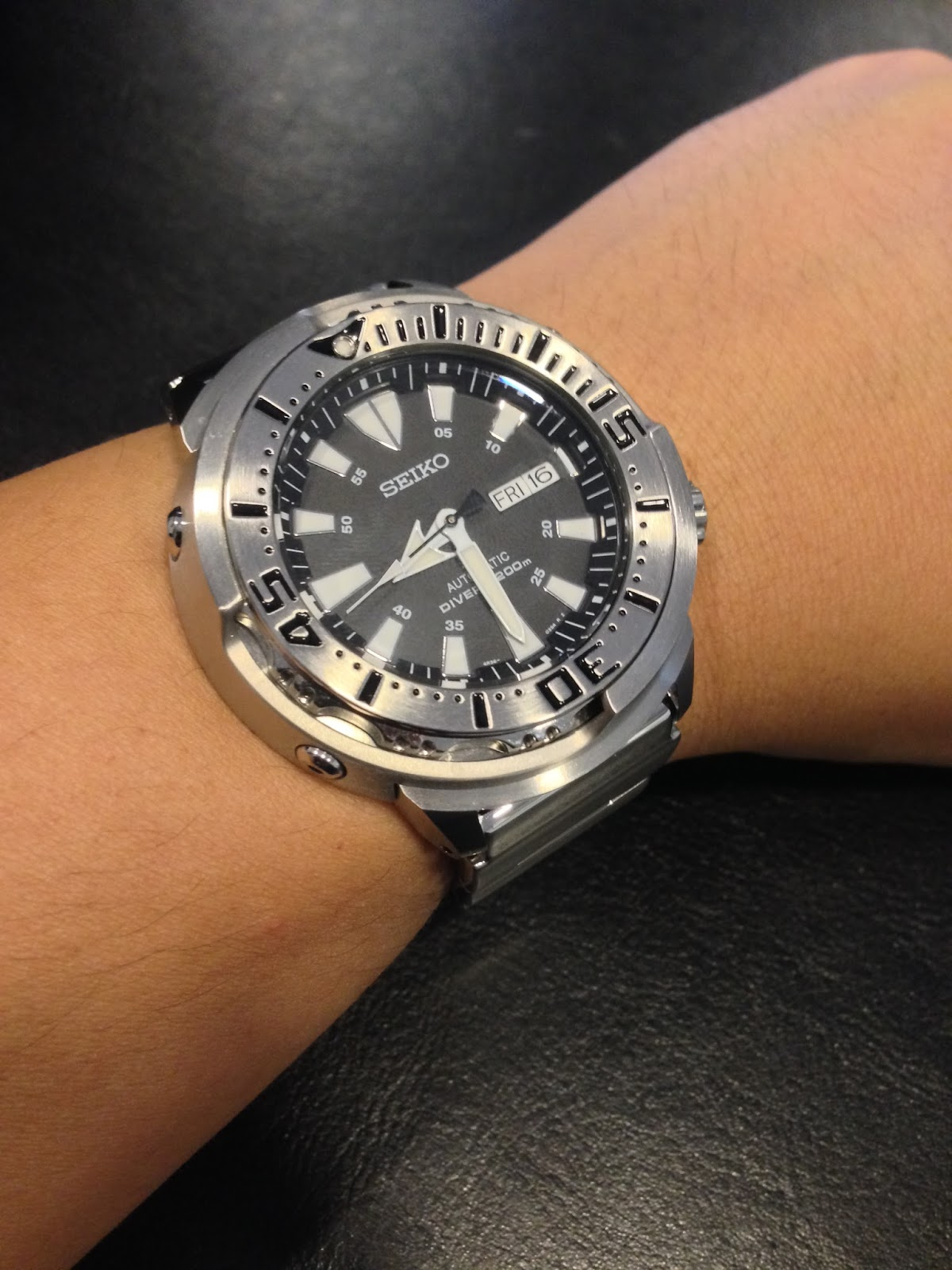 Hertz To Seconds >> My Eastern Watch Collection: Seiko Prospex 200m Diver SRP637 (or SRP637K or SRP637K1) Shrouded ...