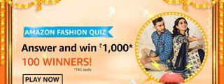 Amazon Fashion Quiz - Which kind of clothing item does 9 yards refer to?