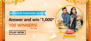 Amazon Fashion Quiz