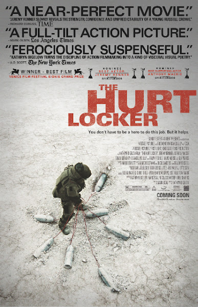 Poster of The Hurt Locker 2009 720p Hindi BRRip Dual Audio Full Movie Download