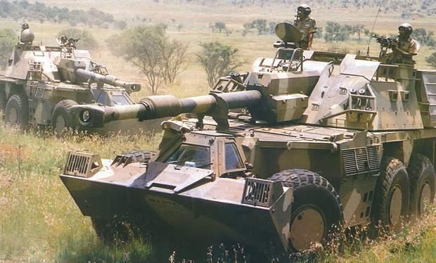 САУ G6 Rhino