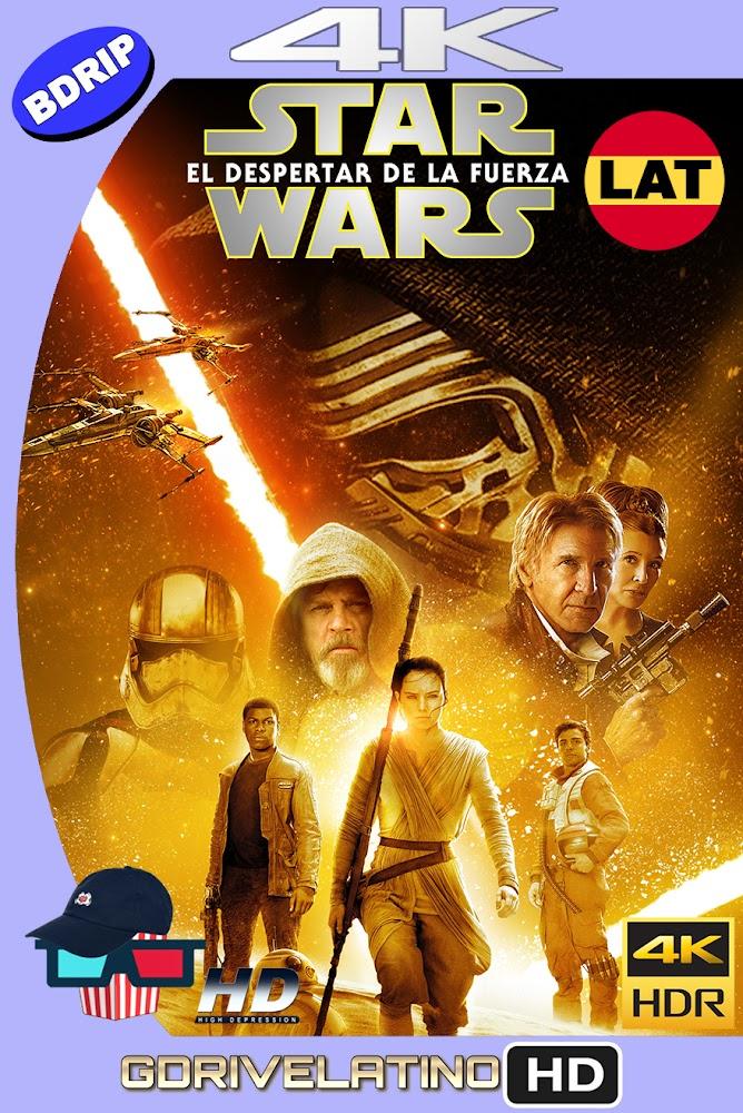 Star Wars : El Despertar de la Fuerza (2015) BDRip 4K HDR Latino-Ingles MKV