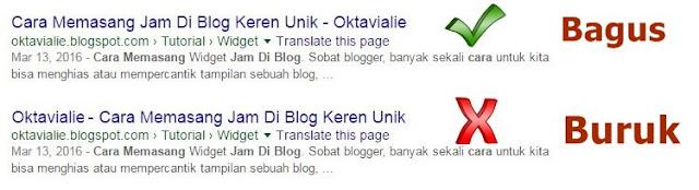 Cara Menambahkan Title Tag SEO Friendly Untuk Blog