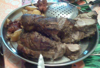 Spata de porc la cuptor reteta,