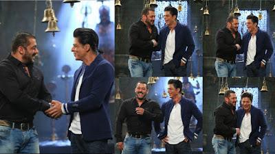 शाहरुख और सलमान 'बिग बॉस 9' में हंसते गुदगुदाते