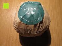 get well soon Verpackung: Badekugeln Geschenkpackung - 6 grosse Bio Badenbomben pro Packung - Einzigartige, luxuriöse und sprudelnde Kugeln - die ideale Geschenkidee - Hergestellt in den USA (Beauty by Earth)