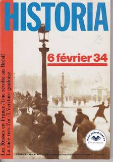 Revue Historia, 447 1984, les Russes en France