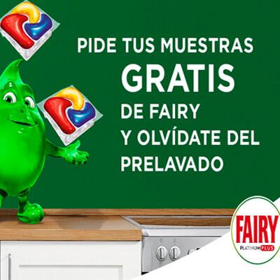 muestras gratis fairy platinum plus