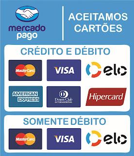 Bandeiras cartões de crédito