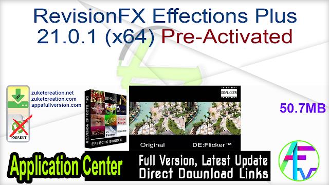 RevisionFX Effections Plus 21.0.1 (x64) Pre-Activated
