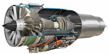 Affinity Supersonic Engine (Source GE)