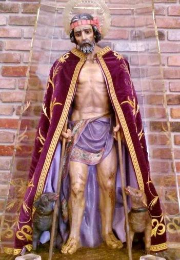 Imagen de San Lázaro de cuerpo entero
