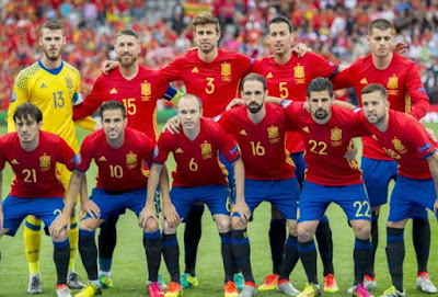 Spanish world cup squad