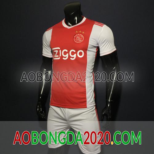 Mẫu Áo Ajax Đỏ Mùa Giải 2020 Sân Nhà