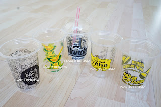 pp cup printing surabaya murah indonesia jakarta bandung ,percetakan gelas cup