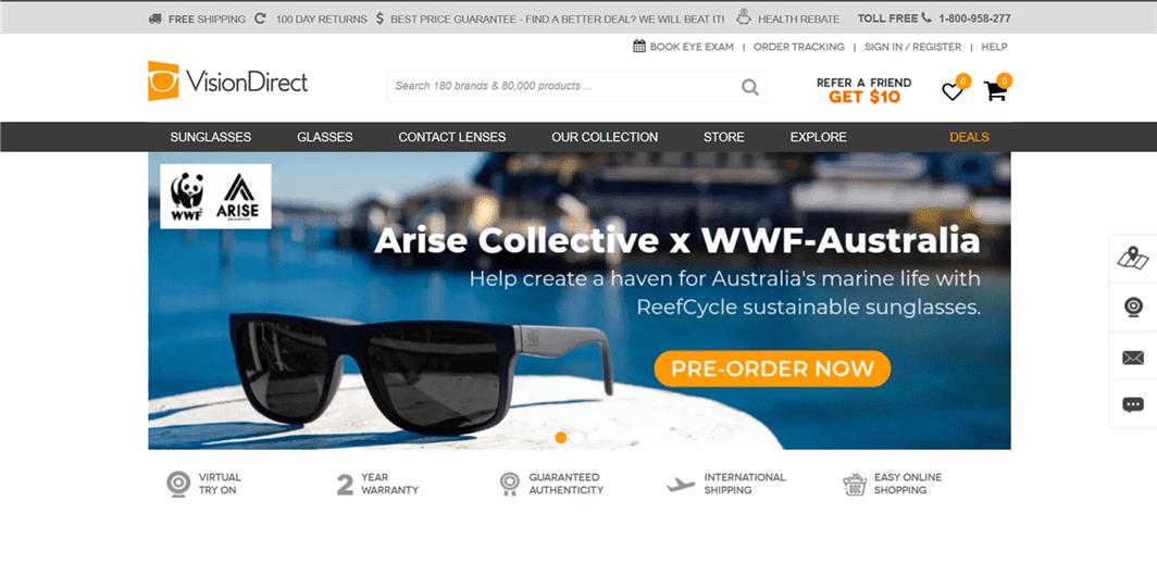 オーストラリアのコンタクトレンズ通販サイト