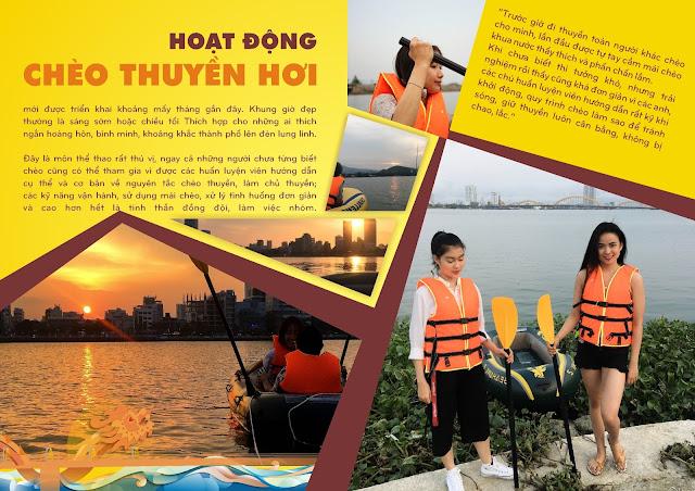 Tour du lịch khám phá thuyền hơi tại Đà Nẵng