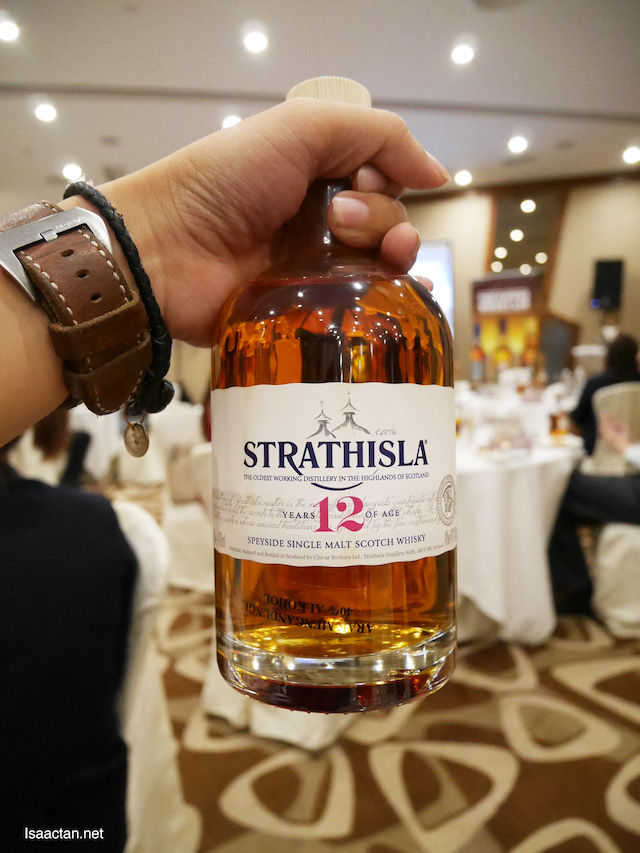 Strathisla single malt, the heart of Chivas Whisky