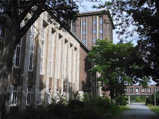 Gebäude des Funkhauses an der Nalepastraße