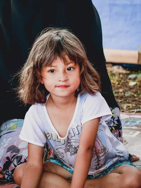 Ketabahan Anak Cantik Korban Gempa Palu,