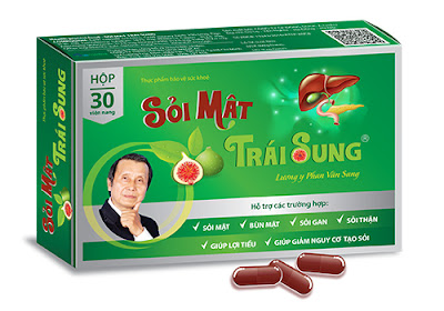 Sỏi Mật Trái Sung - điều trị sỏi mật, sỏi thận, sỏi gan.