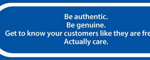 The next BIG thing in marketing: authenticity & responsiveness