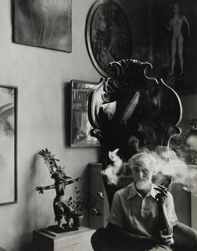 Max Ernst, New York, 1942 foto por Arnold Newman | imagenes bellas, retratos vintage, cool stuff, pictures, pics, photos