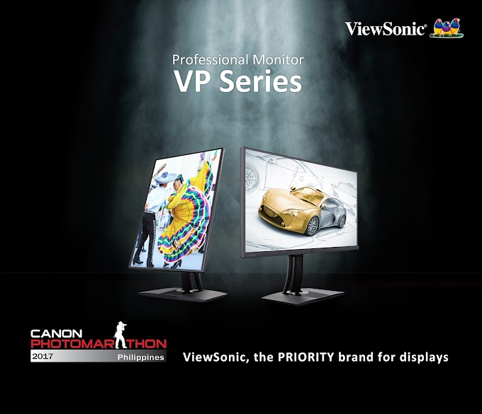 ViewSonic Professional Monitors Hailed as Priority Brand at Canon Photomarathon Philippines 2017