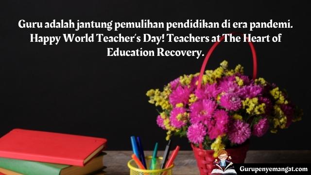 Ucapan Selamat Hari Guru Sedunia Tahun 2021