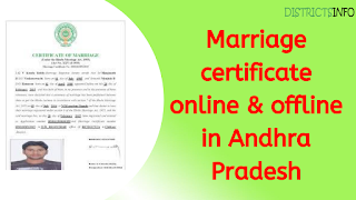 Marriage Certificate in Andhra Pradesh