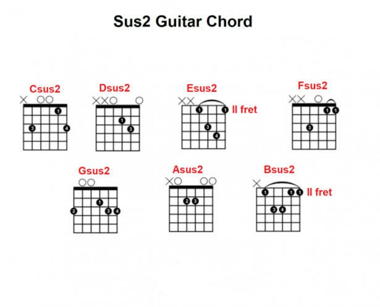belajar chord sus2