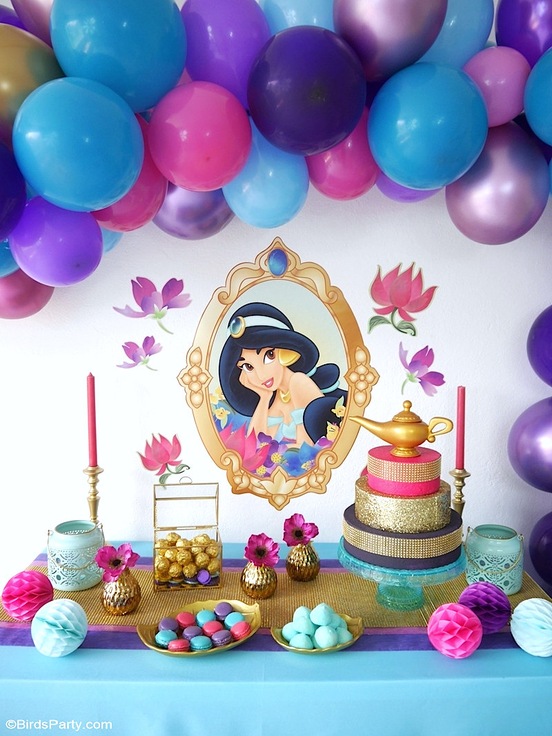 princess jasmine cake decorations