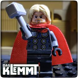 Minifigur Thor - www.dasklemmt.de