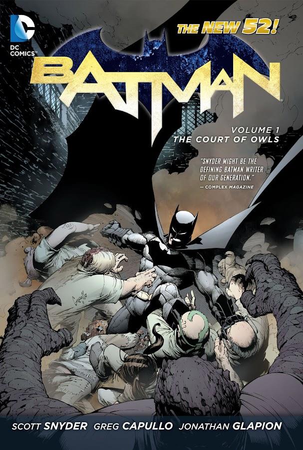 batman new 52 court of owls dc comics scott snyder greg capullo