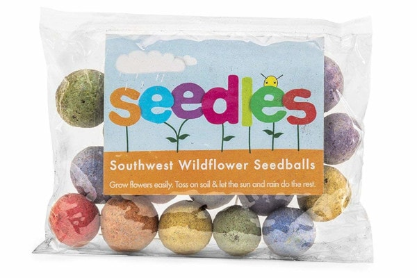 Seedles - US Wildflower Seed Balls #gardengiftideas