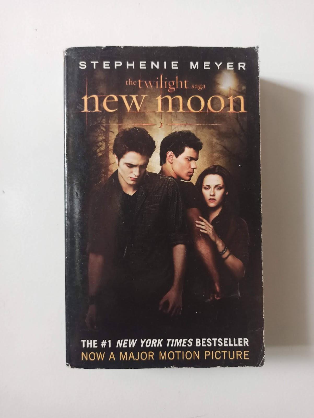 buku novel bekas the twilight saga new moon