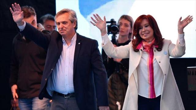 Sondeo: Fernández ganará presidenciales de Argentina en primera vuelta