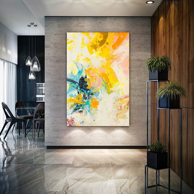 Large living room wall decoration and designs