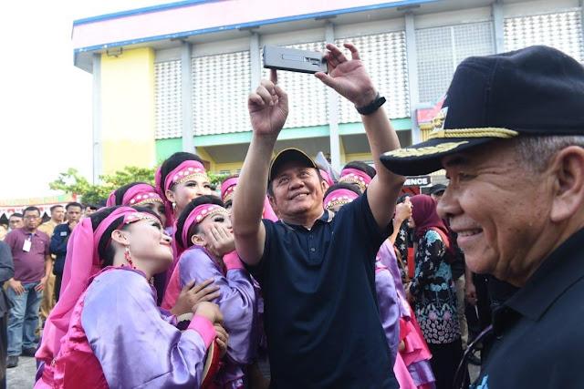 Gubernur Opening Ceremony OKU Expo 2019 di Baturaja