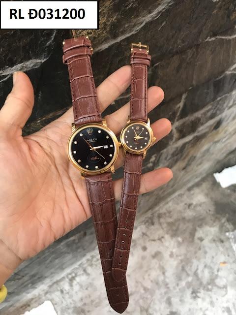Đồng hồ dây da RL Đ031200