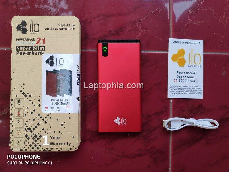 Paket Pembelian Hippo Ilo Z1 10000mAh