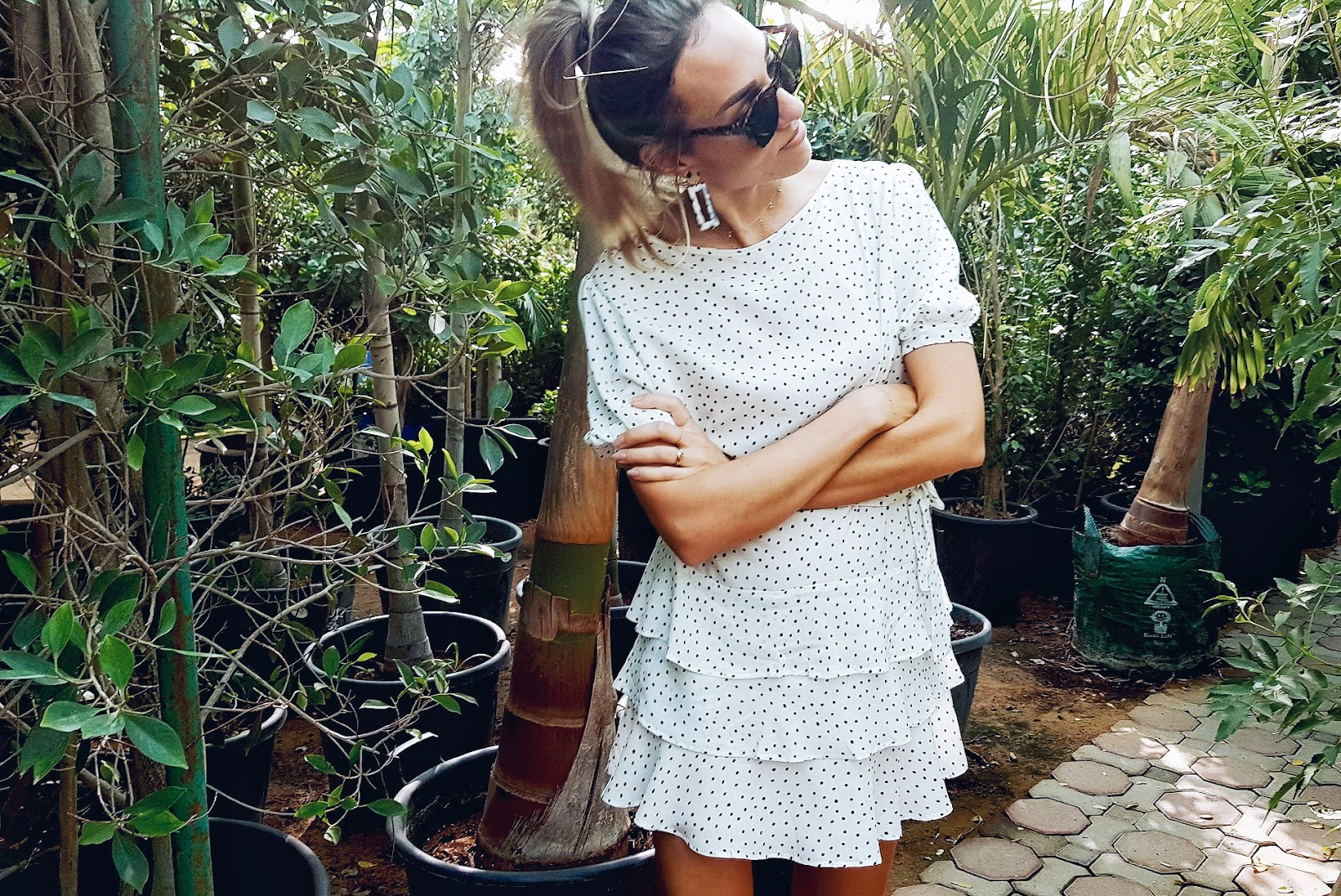 Making: Tiered Ruffle Dress with Subtle Puff Sleeves