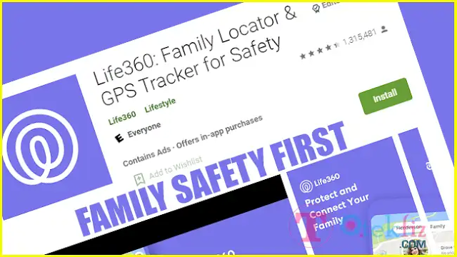 Life360 Family Tracker Android App: Family Locator & GPS Tracker for Safety, Versatile App to Stay Connected 24x7 with Family & Friends