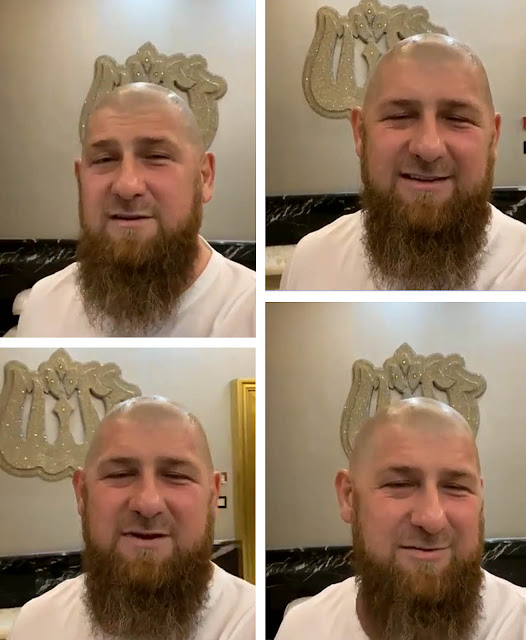 Рамзан Кадыров побрился наголо, лысый  Рамзан Кадыров фото