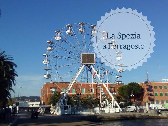 Cosa fare alla Spezia a ferragosto? la ruota panoramica sulla passeggiata Morin