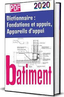 Dictionnaire : Fondations et appuis, Appareils d'appui PDF